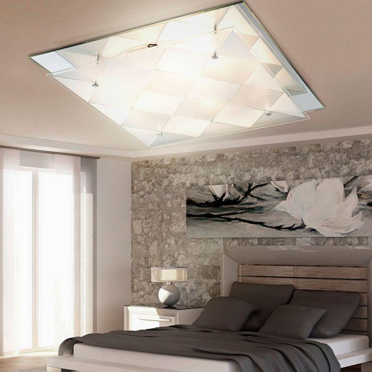 LED RGB Design ceiling light with mirror for the corridor DUBBI – Bild 4
