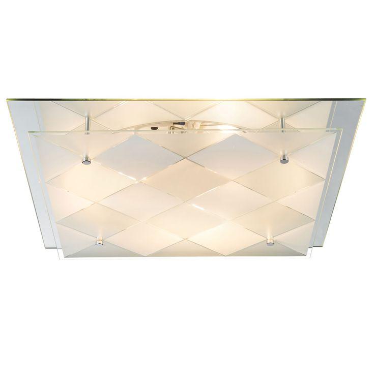 LED RGB Design ceiling light with mirror for the corridor DUBBI – Bild 5