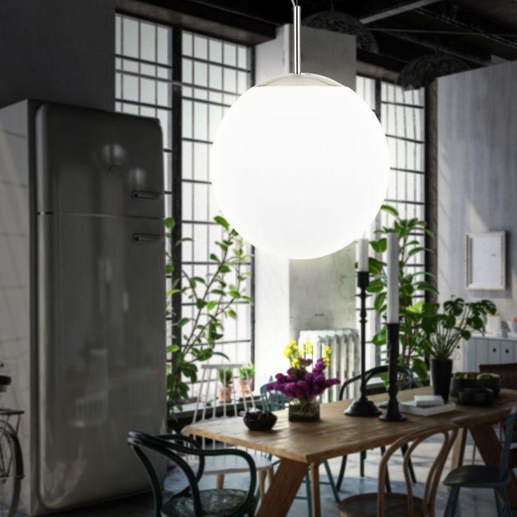 Pendelleuchte mit Glas Kugel für Ihren Innenraum PIEDALE – Bild 2