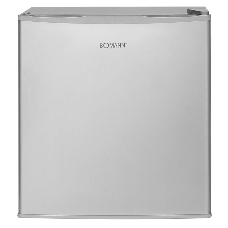 Bomann Kühlbox KB 340 Edelstahl-Optik Minibar Kühlschrank freistehend Standgerät – Bild 2