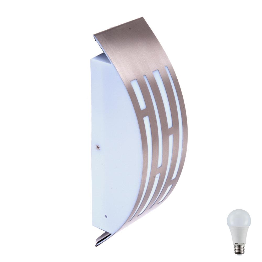 Applique d 39 ext rieur en inox ramona lampes meubles for Applique murale exterieur inox