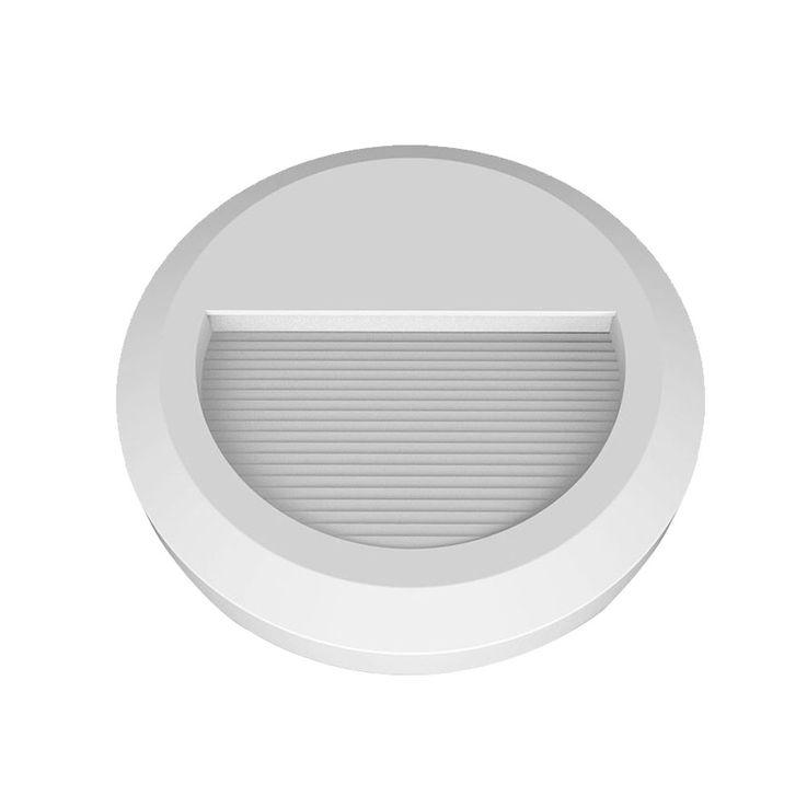 LED Wand Strahler rund Fassaden Außen Beleuchtung Veranda Treppen Stufen Lampe weiß V-TAC 1314 – Bild 1