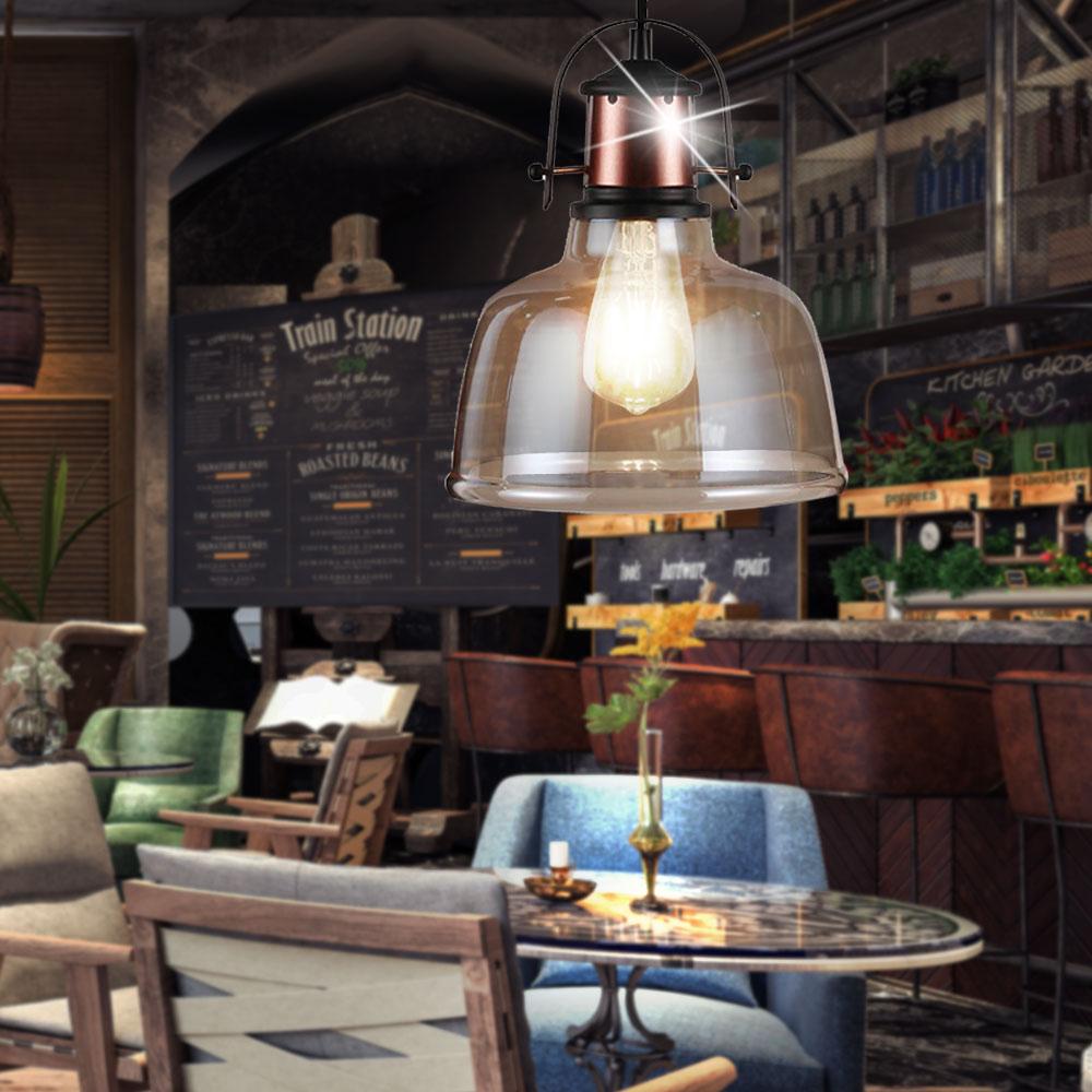 vintage plafond pendule suspension luminaire industriel. Black Bedroom Furniture Sets. Home Design Ideas