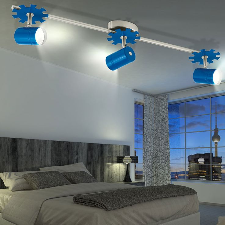 LED RGB ceiling spotlights made of metal for your children's room – Bild 4