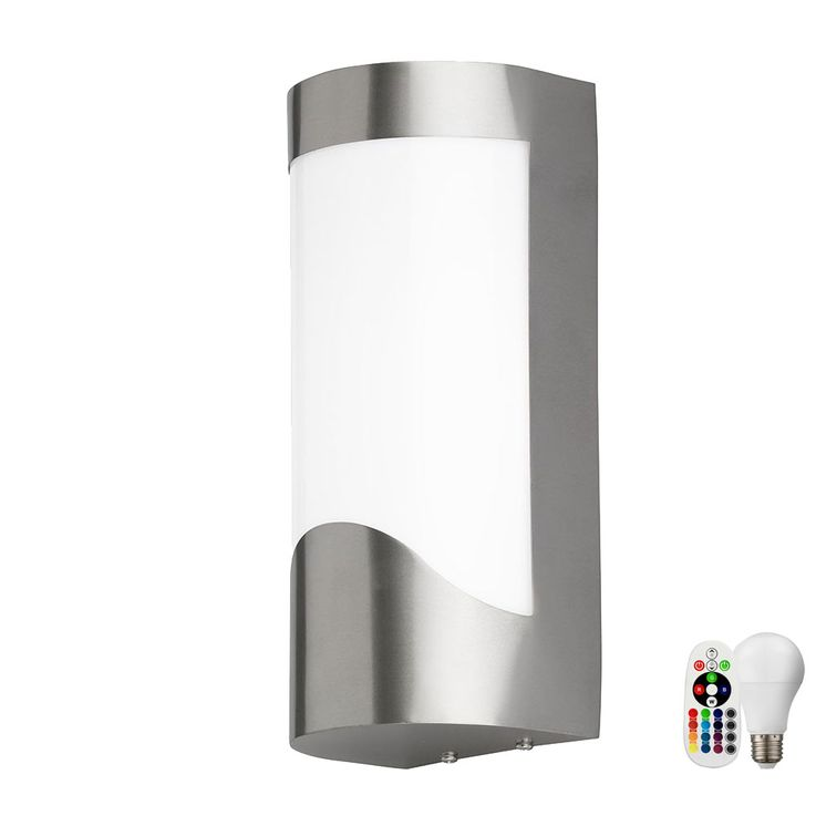 Modern LED RGB wall light for your outdoor area – Bild 1