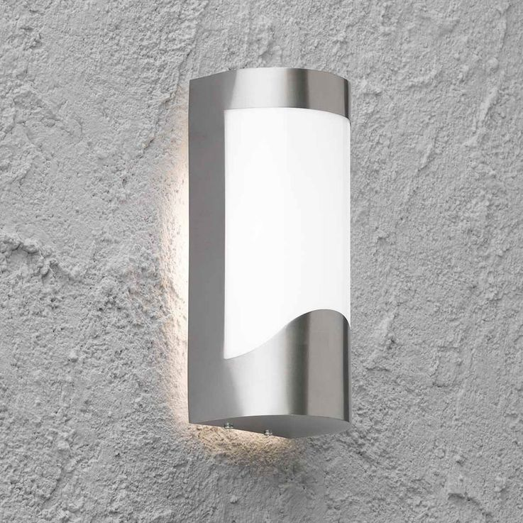 Modern LED RGB wall light for your outdoor area – Bild 5