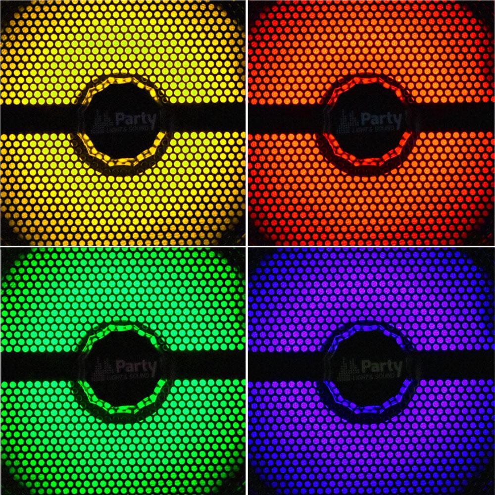 250W Mobile LED Musikanlage mit USB/Bluetooth und Mikro – Bild 5