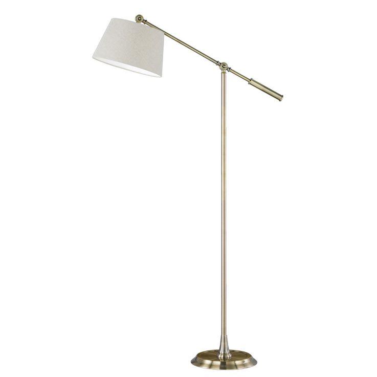 Stand Lamp Textile Dining Room Ceiling Floodlight Beistell Lamp adjustable Honsel Leuchten 45331 – Bild 1