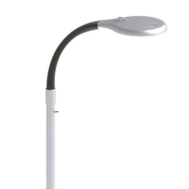 Lampadaire LED Lampe de salon Lampe de lecture Spotlight Magnifier 3x 5x Grossissement Honsel Leuchten 45221 – Bild 3