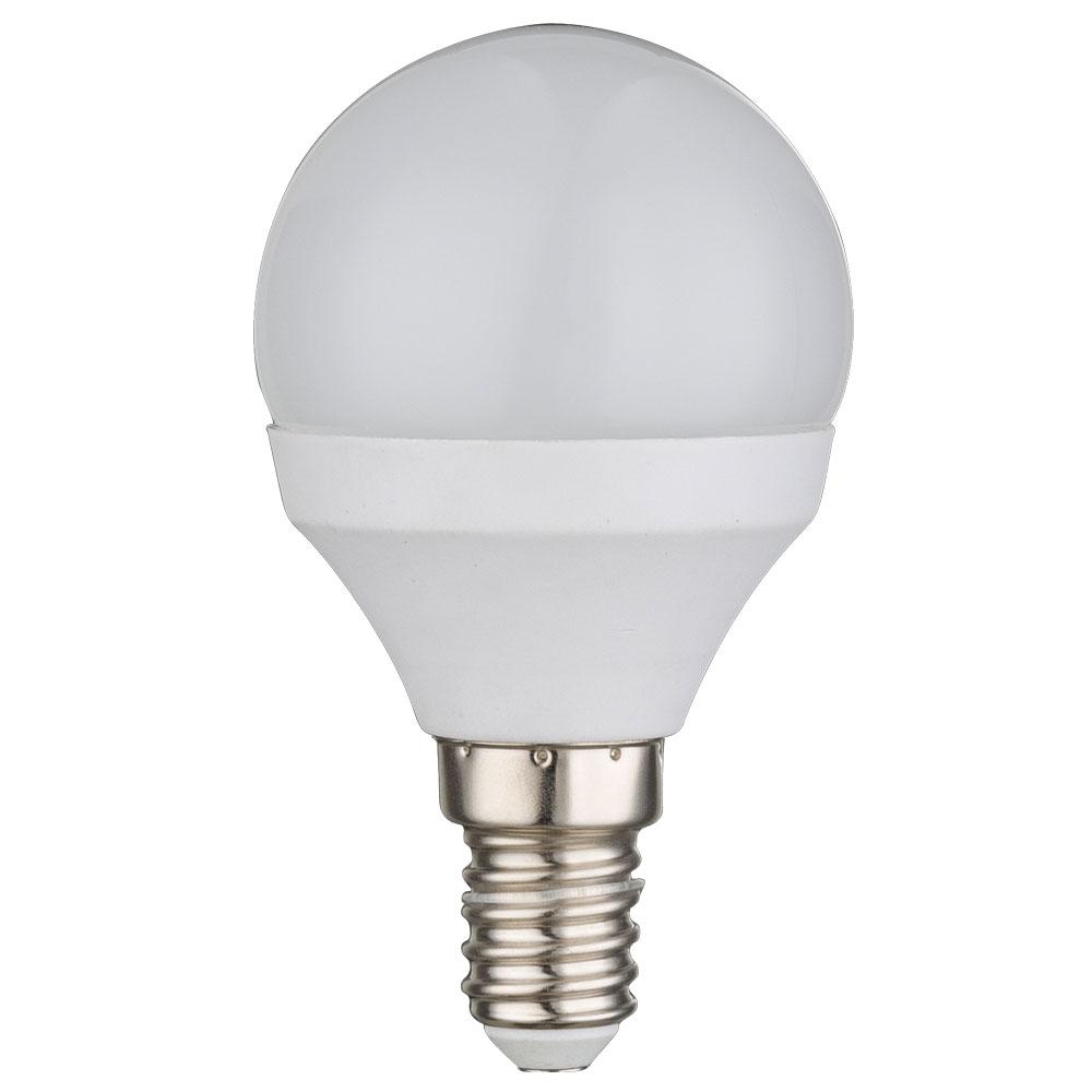 E14 led leuchtmittel mit 6 watt in kugelform lampen for Lampen led shop