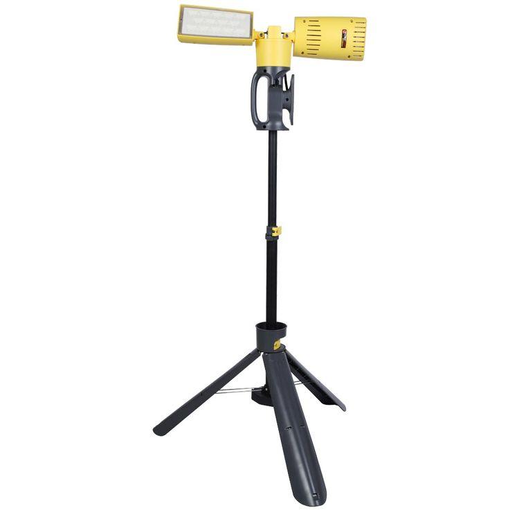 LED 35 Watt Construction Spotlight Outdoor Garden Lamp House Tripod Lamp Spot Swiveling Eco Light 6290 – Bild 1