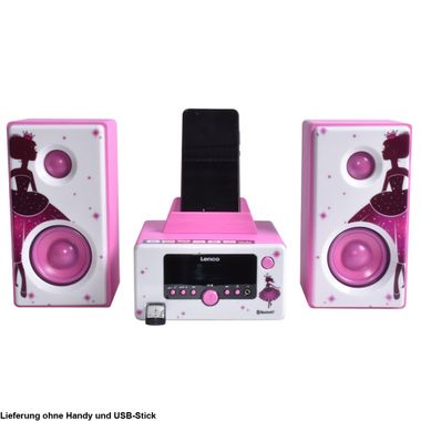 Princess design stereo with Bluetooth, USB and radio – Bild 1
