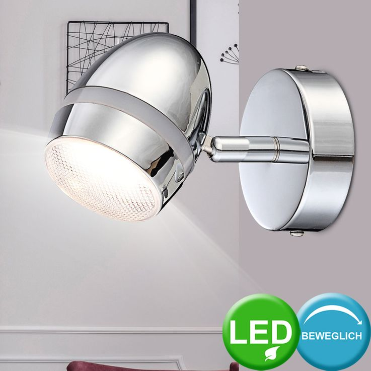 Set of 3 LED wall lights for the living room MANJOLA – Bild 3