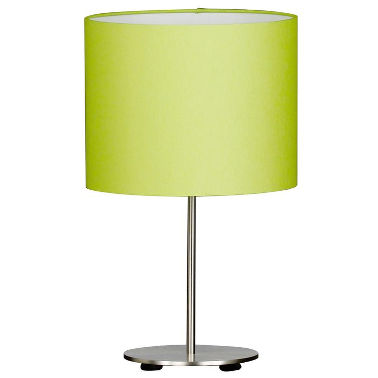 Lampe de table en textile vert avec interrupteur ESTADIO – Bild 1