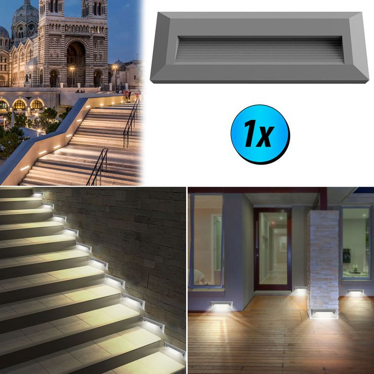 LED wall lights for outdoor stairs VT-1162 – Bild 3