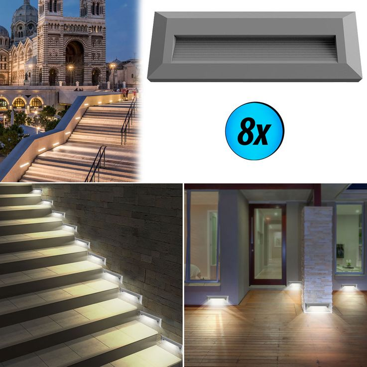 LED wall lights for outdoor stairs VT-1162 – Bild 7