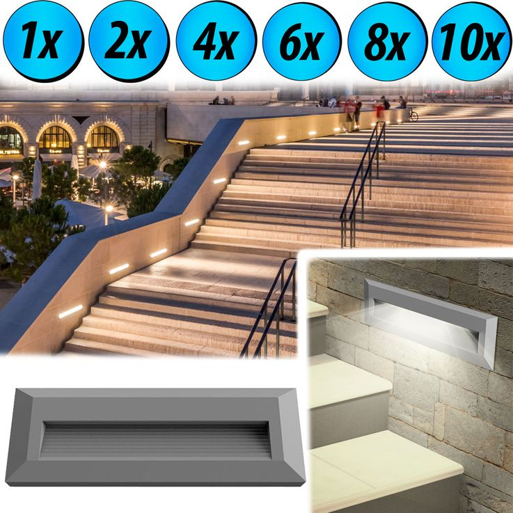 LED wall lights for outdoor stairs VT-1162 – Bild 2