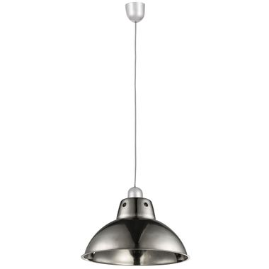 Industrial pendant lamp stainless dining room kitchens hanging lighting ceiling lamp silver Globo 15230 – Bild 1