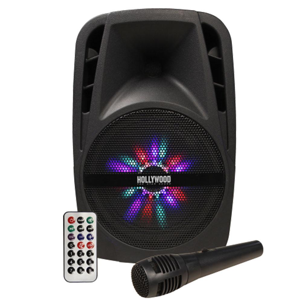 300W Mobile Musikanlage mit USB/SD und Bluetooth-Funktion