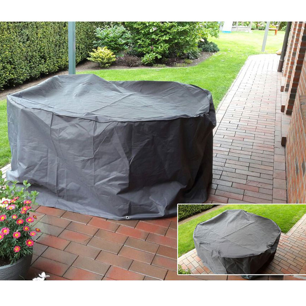 Cover tarpaulin stack chairs table cover garden furniture cover hood waterproof HARMS 504723
