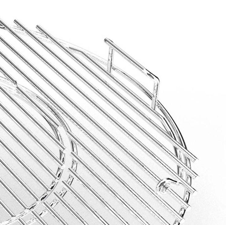 Hauptrost 57 cm Ø Grillzubehör Guss-Grillrost Chrome – Bild 4