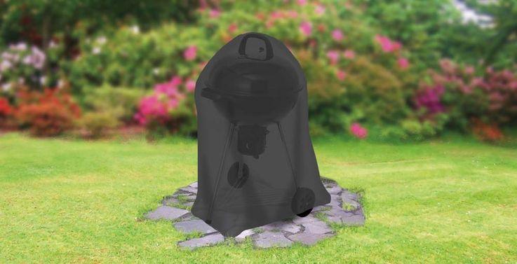 Universal Abdeckhaube -für Kugelgrill klein, schwarz – Bild 2
