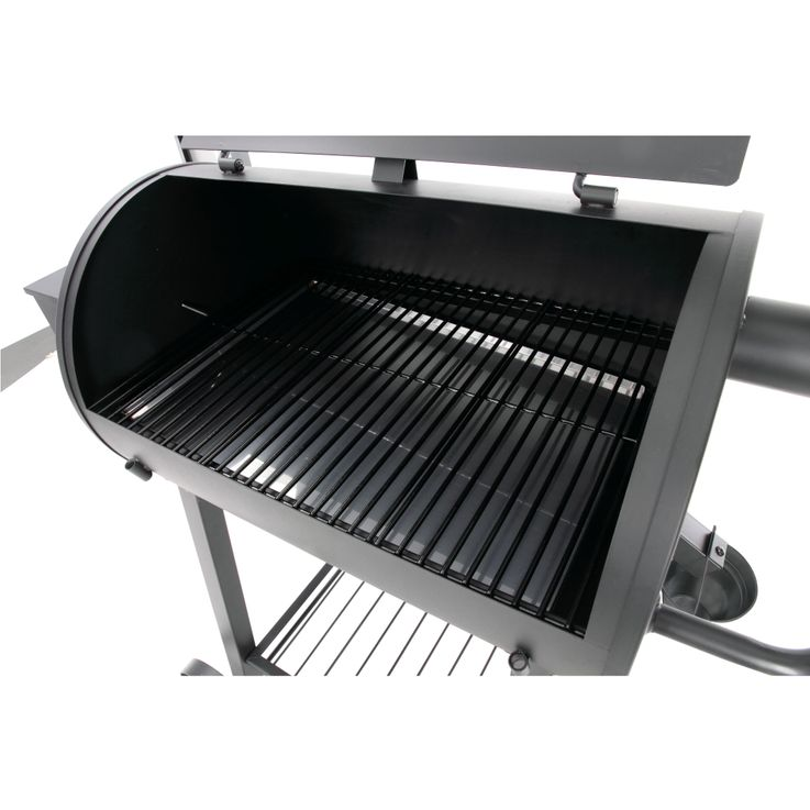"Grill Smoker 8 Tier Steel Smoker Pellet Grill ""New Orleans"" Black – Bild 6"