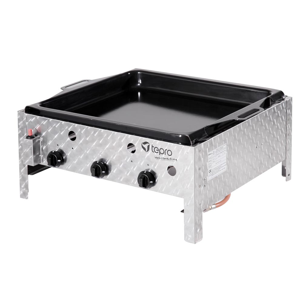 Tepro Gas Grill Sausage Roaster Table Grill Lexington Type 3 Grillfl. 55x46cm