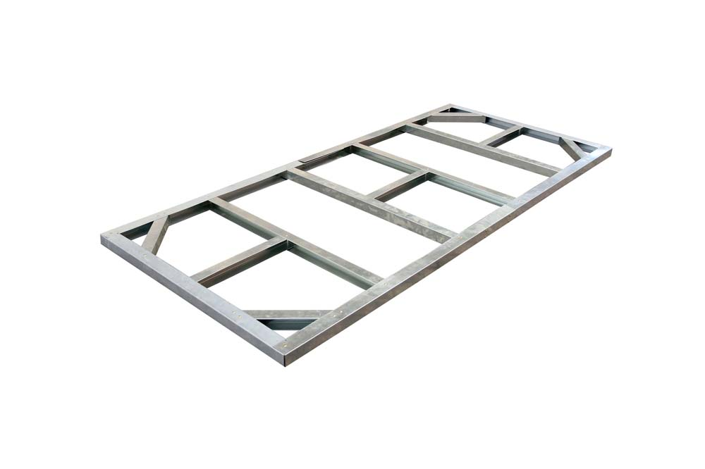 Metall-Unterkonstruktion Pent Roof 8x4