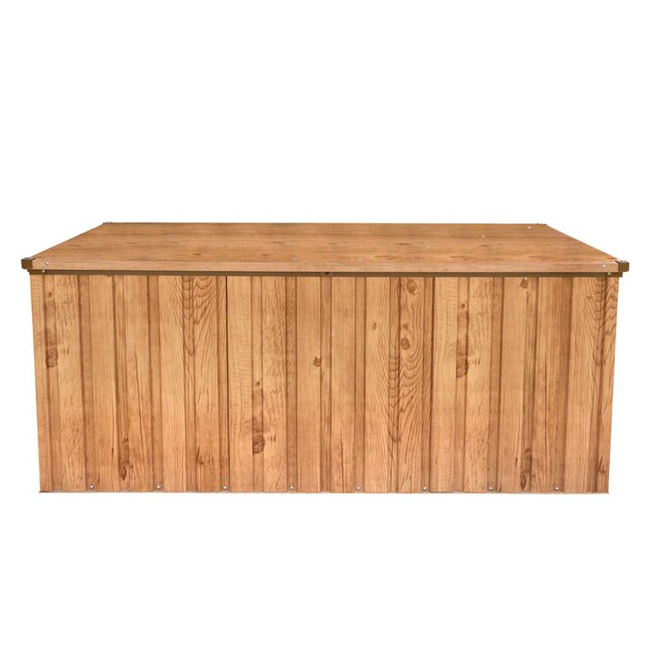Metal  Tools Tool Box 170x70 Wood  -Decor Oak Garden Yard Sheet Steel Tepro 7448 – Bild 1