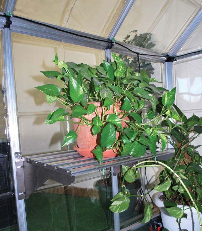 Arbeitsregal Set, maximale Belastung 40 kg,  3 Pflanzenhalter – Bild 3
