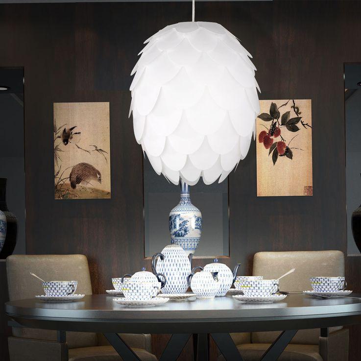 Feuilles Plafond Eclairage Pendule Lampe Suspendue Spotlight Luminaire blanc  Reality  Leuchten R30581001 – Bild 3
