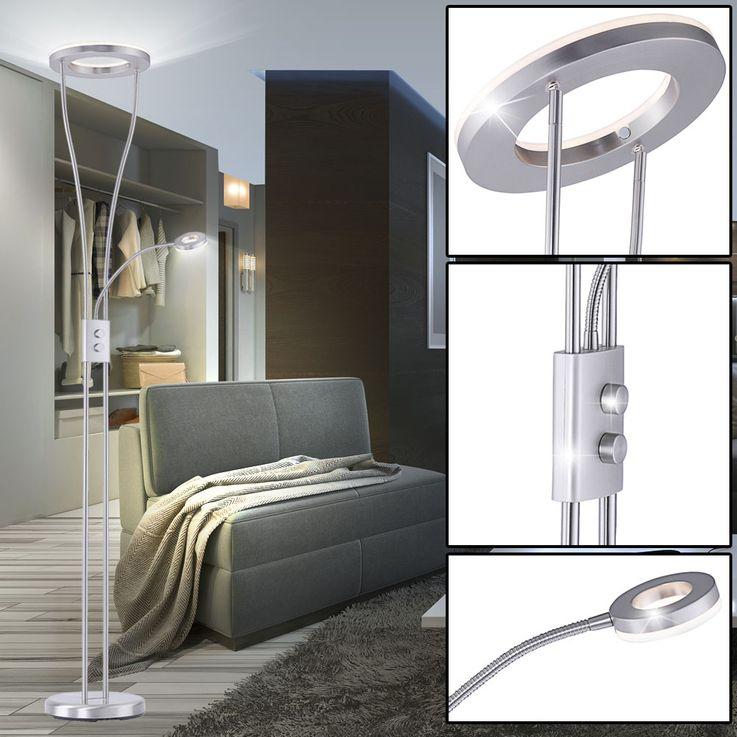 LED Deckenfluter mit flexiblem Lesearm für Ihren Wohnraum – Bild 2