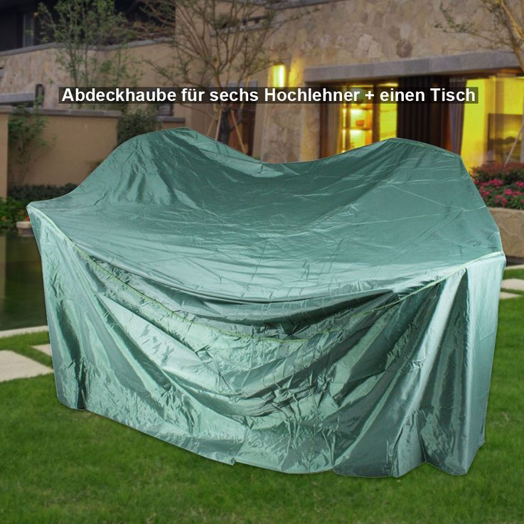 High quality cover hood garden furniture protection highback tarpaulin table tarpaulin grill – Bild 4