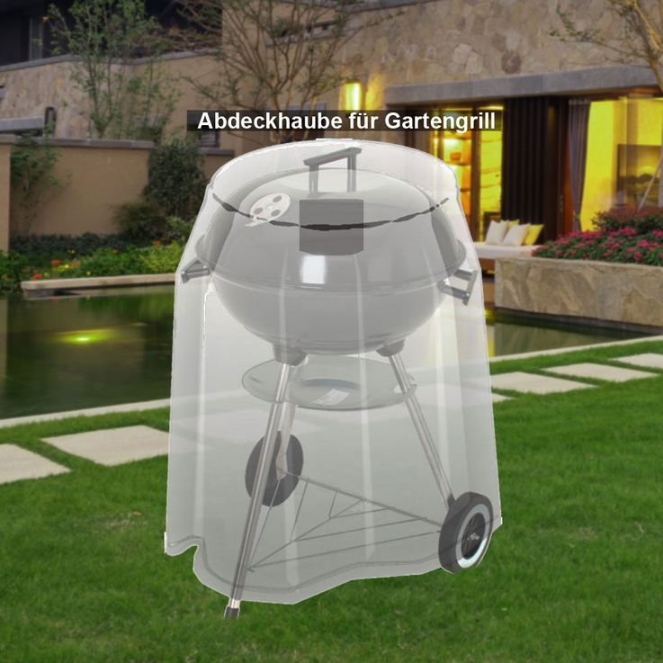 High quality cover hood garden furniture protection highback tarpaulin table tarpaulin grill – Bild 5