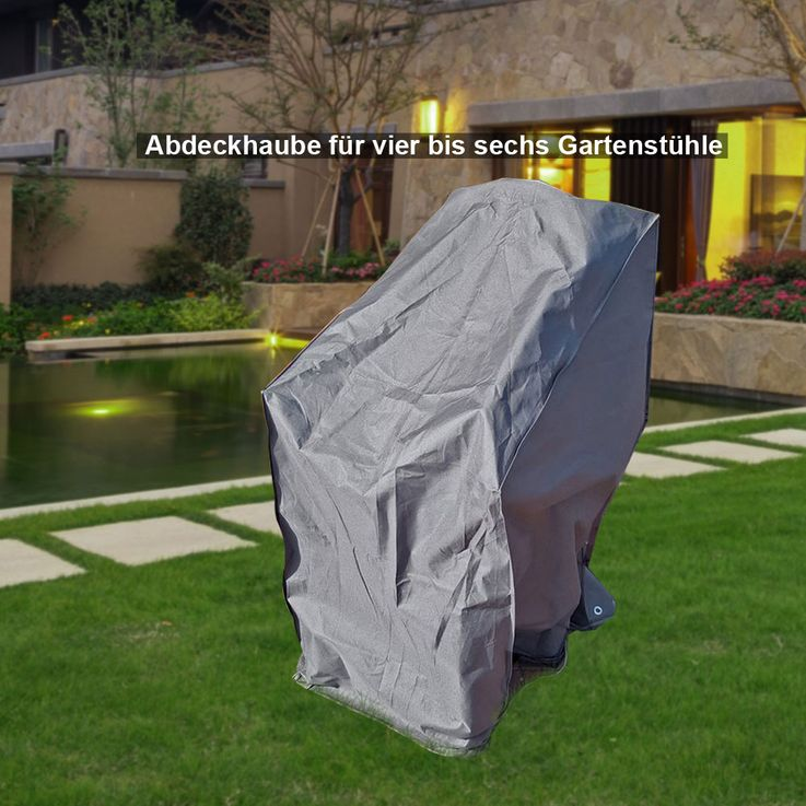High quality cover hood garden furniture protection highback tarpaulin table tarpaulin grill – Bild 6