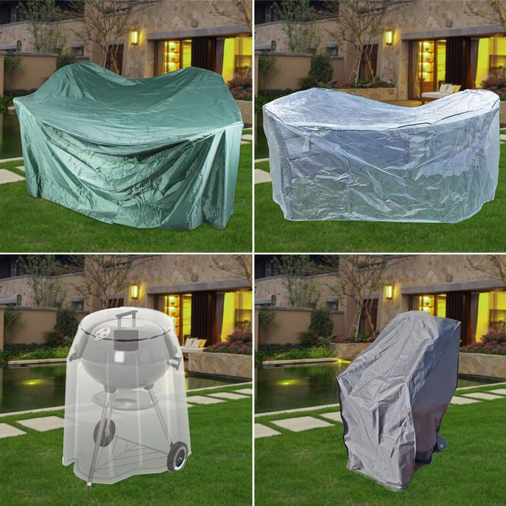High quality cover hood garden furniture protection highback tarpaulin table tarpaulin grill – Bild 2