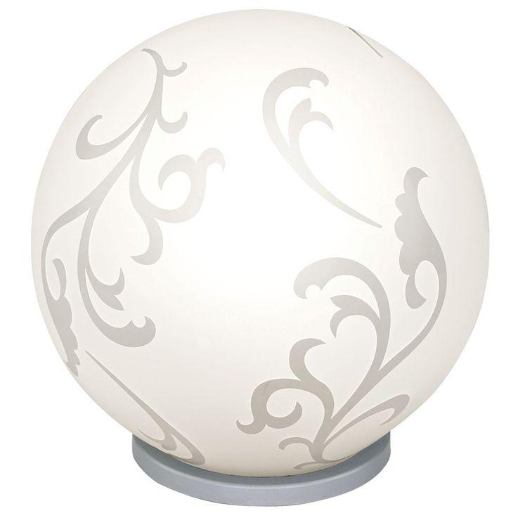 Tisch Lampe Blumen Design Wohn Schlaf Zimmer Beleuchtung Nacht Licht Lese Leuchte weiß EGLO 90744 – Bild 1