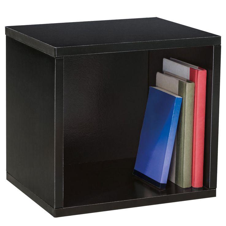 Design Karton Würfel Wand Montage Regal Hänge Ablage schwarz Belastbarkeit 15 kg BHP B991526-4 – Bild 1