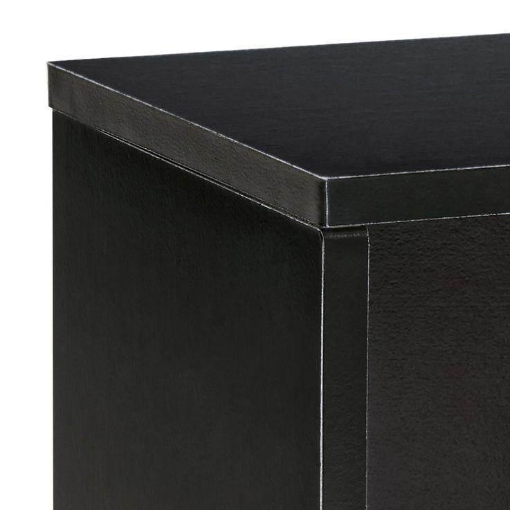 Design Karton Würfel Wand Montage Regal Hänge Ablage schwarz Belastbarkeit 15 kg BHP B991526-4 – Bild 3