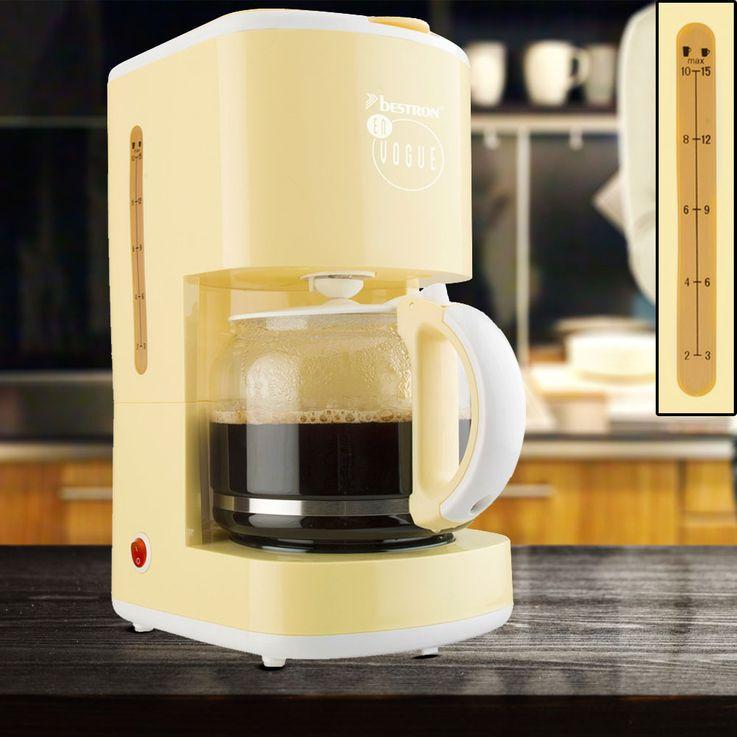 Kaffeemaschine mit Glaskanne in vier verschiedenen Farben – Bild 6