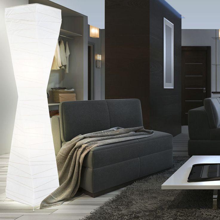 Design paper ceiling floodlight living room lighting hallway stand lamp white  Nino  lights 40100201 – Bild 2