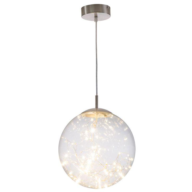 LED Pendellampe für Ihren Wohnraum mit Glaskugel LIGHTS – Bild 1