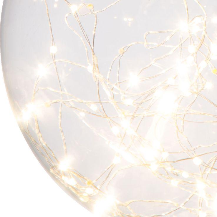 LED Pendellampe für Ihren Wohnraum mit Glaskugel LIGHTS – Bild 4