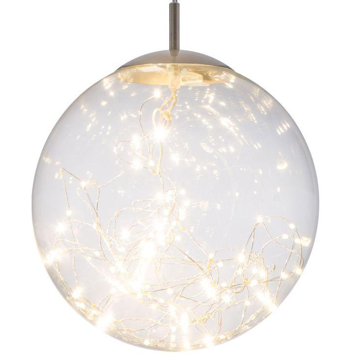 LED Pendellampe für Ihren Wohnraum mit Glaskugel LIGHTS – Bild 5