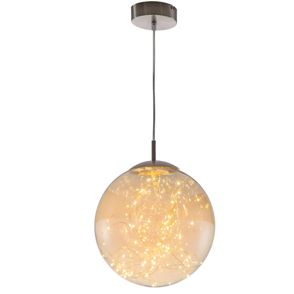 Led Pendant Lamp For Your Living Room With Glass Ball Lights Etc Shop