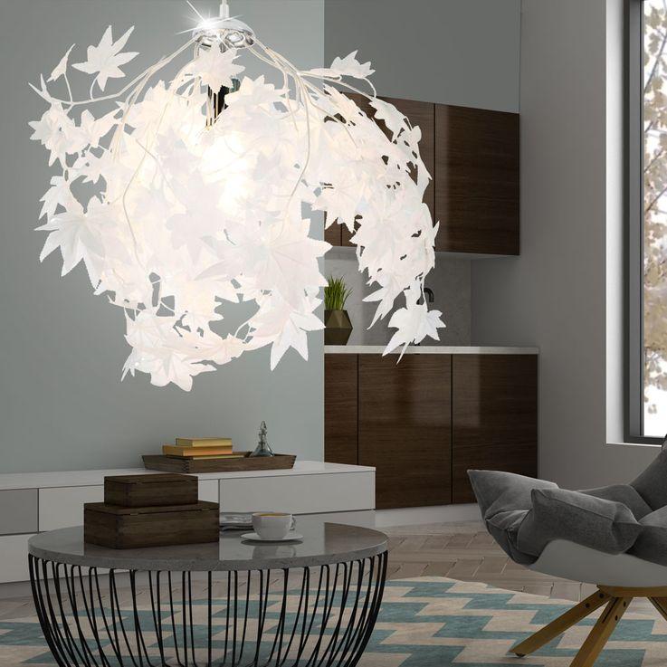 lampe pendentif plafond salle à manger résidentiel rediances feuilles lampe suspendue  Nino  30430106 lumières – Bild 3