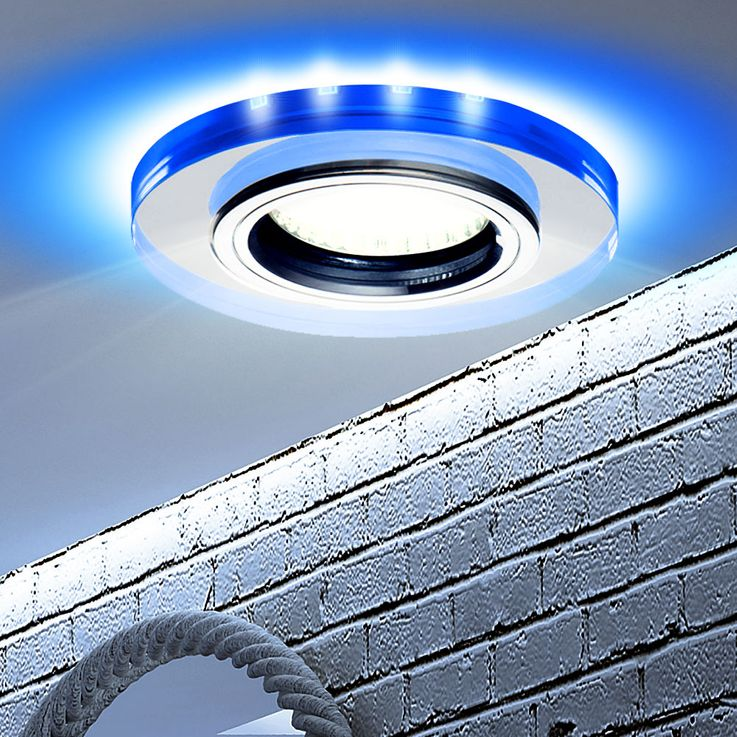 Ceiling Spotlight Recessed Lamp Living Sleep Room Lighting Blue Deco LED Spot Light  Kanlux 24111 – Bild 2