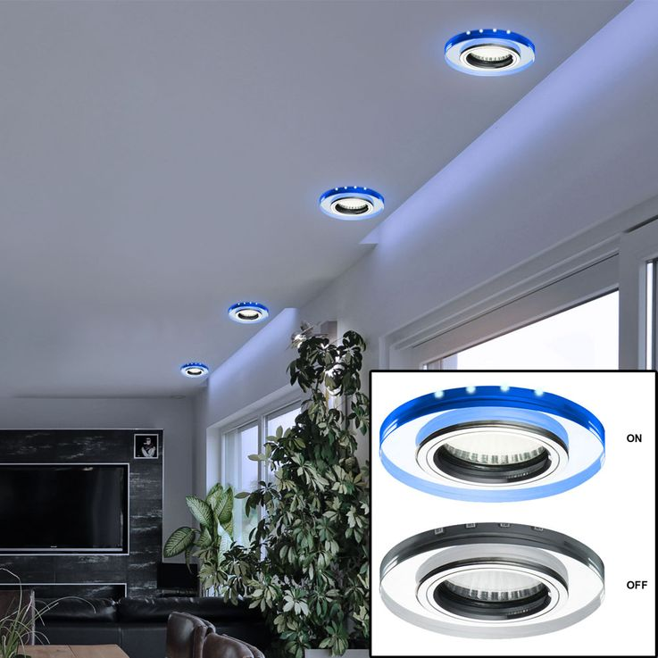 Ceiling Spotlight Recessed Lamp Living Sleep Room Lighting Blue Deco LED Spot Light  Kanlux 24111 – Bild 5