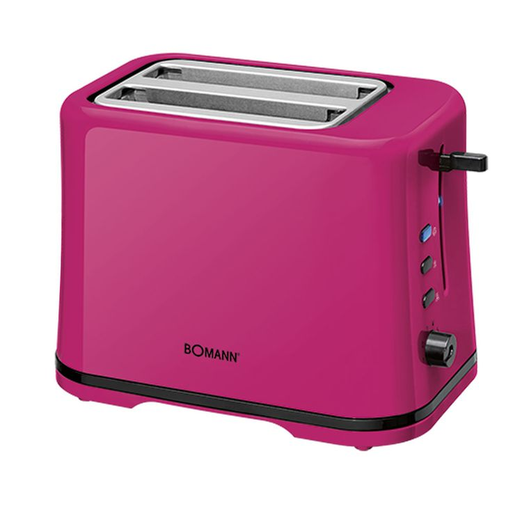 Toaster Cool Touch 2 slices rolls blackberry topping thawing warm-up function  Bomann TA 1577 CB – Bild 1